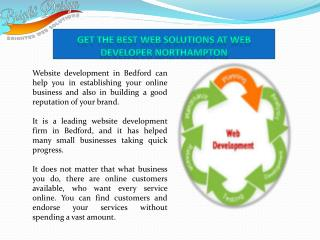 Get the best web solutions at web developer Northampton