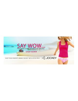 Buy online jockey women bra and bikini low rise in India