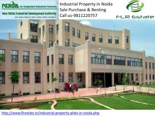 Industrial Property In Noida 9811220757, IT Plot for Sale Bu
