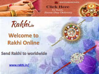 Send rakhi to worldwide - Rakhi Online