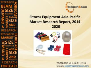 Development Of Fitness Equipment Asia-Pacific Market