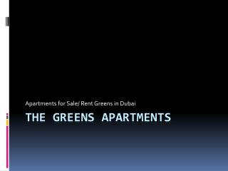 The Greens Properties for Sale - thegreensdubai.com