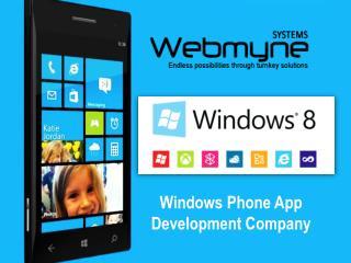 Windows App Development Services in India
