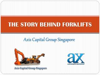 The Story behind forklifts