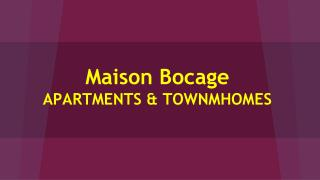 Book Online Apartments In Baton Rouge