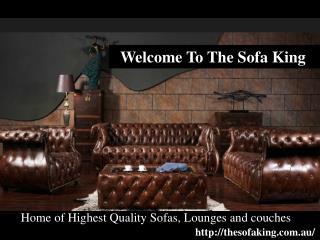 The Sofa King - Sofa Range