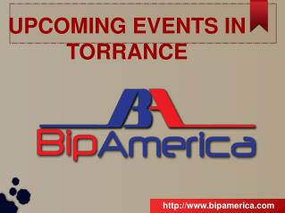 Upcoming Events In Torrance
