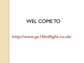 Gu10 Led Light Bulbs - Cost Effective Solutions For Consumers