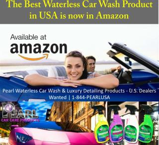 The Best Waterless Car Wash Product in USA is Now in Amazon