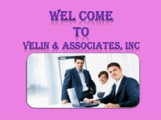 Tax prepare in Hollywood with Velin & Association