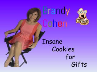 Brandy Cohen - Insane Cookies for Gifts