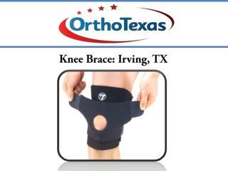 Knee Brace: Irving, TX