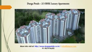 Durga Petals Bangalore, New Luxury Projects in Bangalore
