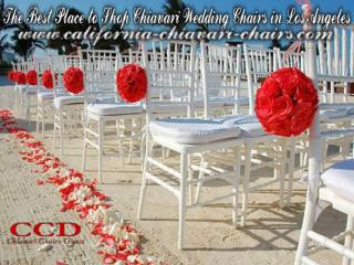 The Best Place to Shop Chiavari Wedding Chairs in Los Angeles