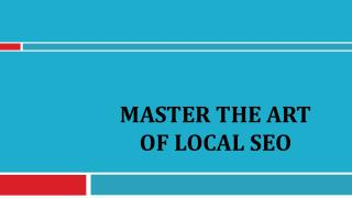 Master the Art of Local SEO