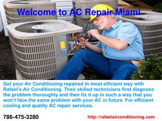 Welcome to AC Repair Miami