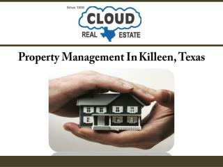 Property Management In Killeen, Texas