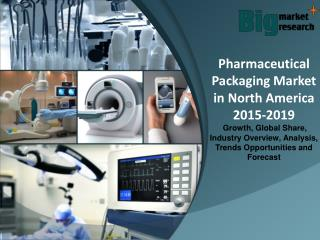 Pharmaceutical Packaging Market in North America 2015-2019