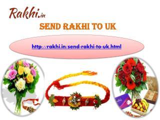 Send Online Rakhi to UK