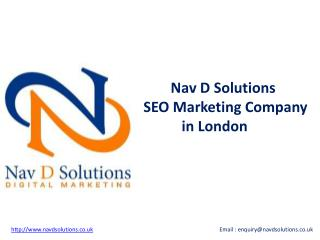 SEO Marketing Company in London