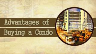 Advantages Of Buying A Condo