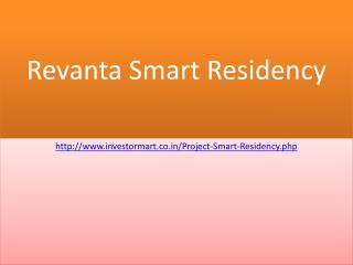 Revanta Smart Residency Apartments