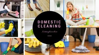 Nottinghamshire Domestic Cleaning