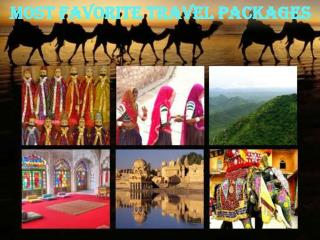 Most Favorite Travel Packages
