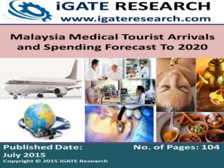 Malaysia Medical Tourists Arrivals and Market