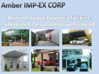 Best and unique carports.