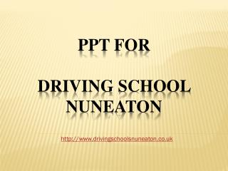 Driving School Nuneaton