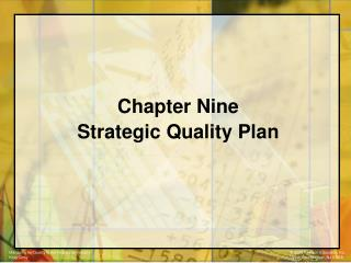 Chapter Nine  Strategic Quality Plan