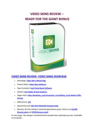 Demo review in action of Video Motion and huge bonus pack value  $5300