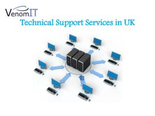 Best Technical Support Services in UK- Venom IT