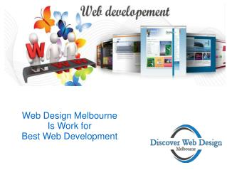 Web Design Melbourne Provides Web-Development and Web Design