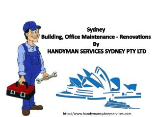 Sydney Building, Office Maintenance - Renovations By HANDYMAN SERVICES SYDNEY PTY LTD