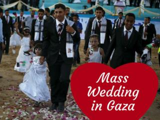 Mass Wedding in Gaza