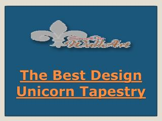The Best Design Unicorn Tapestry
