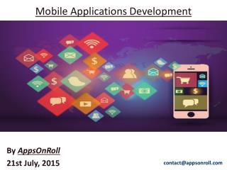 AppsOnRoll - Mobile Application Development Company