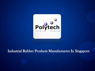 Industrial Rubber Products Manufacturers