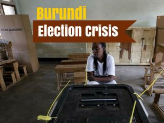 Burundi Election Crisis