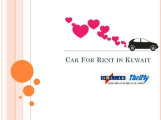 car for rent in kuwait