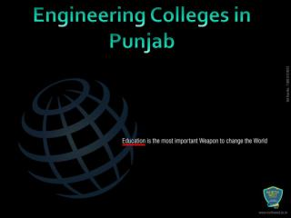 Engineering Colleges in Punjab