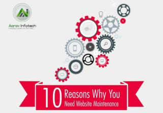 10 Reasons Why Your Business Need Website maintenance