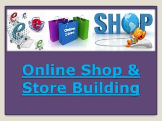 Online Shop & Store Building