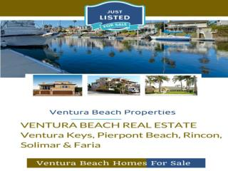 Ventura Beach Homes For Sale