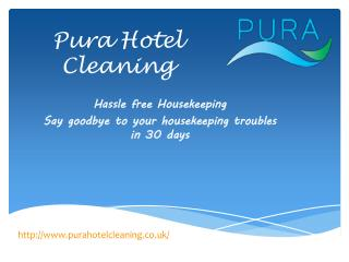 Hotel Housekeeping Services,UK
