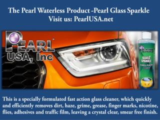 The Pearl Waterless Product -Pearl Glass Sparkle