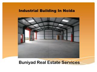 Buy Industrial factories in Noida