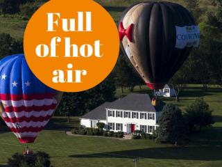 Full of hot air
